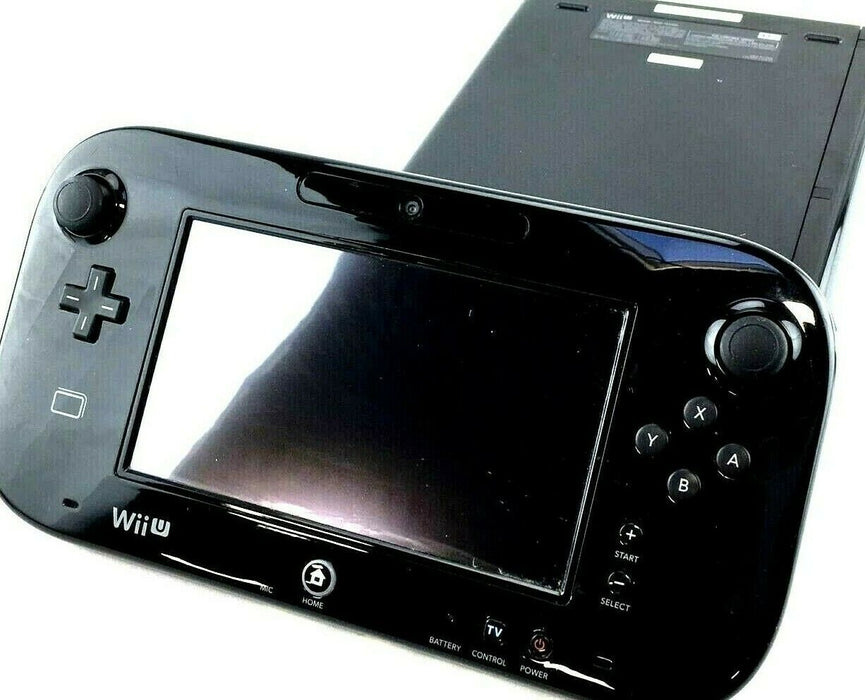 Nintendo Wii U WUP-101 32GB Black Gaming Console & Gamepad