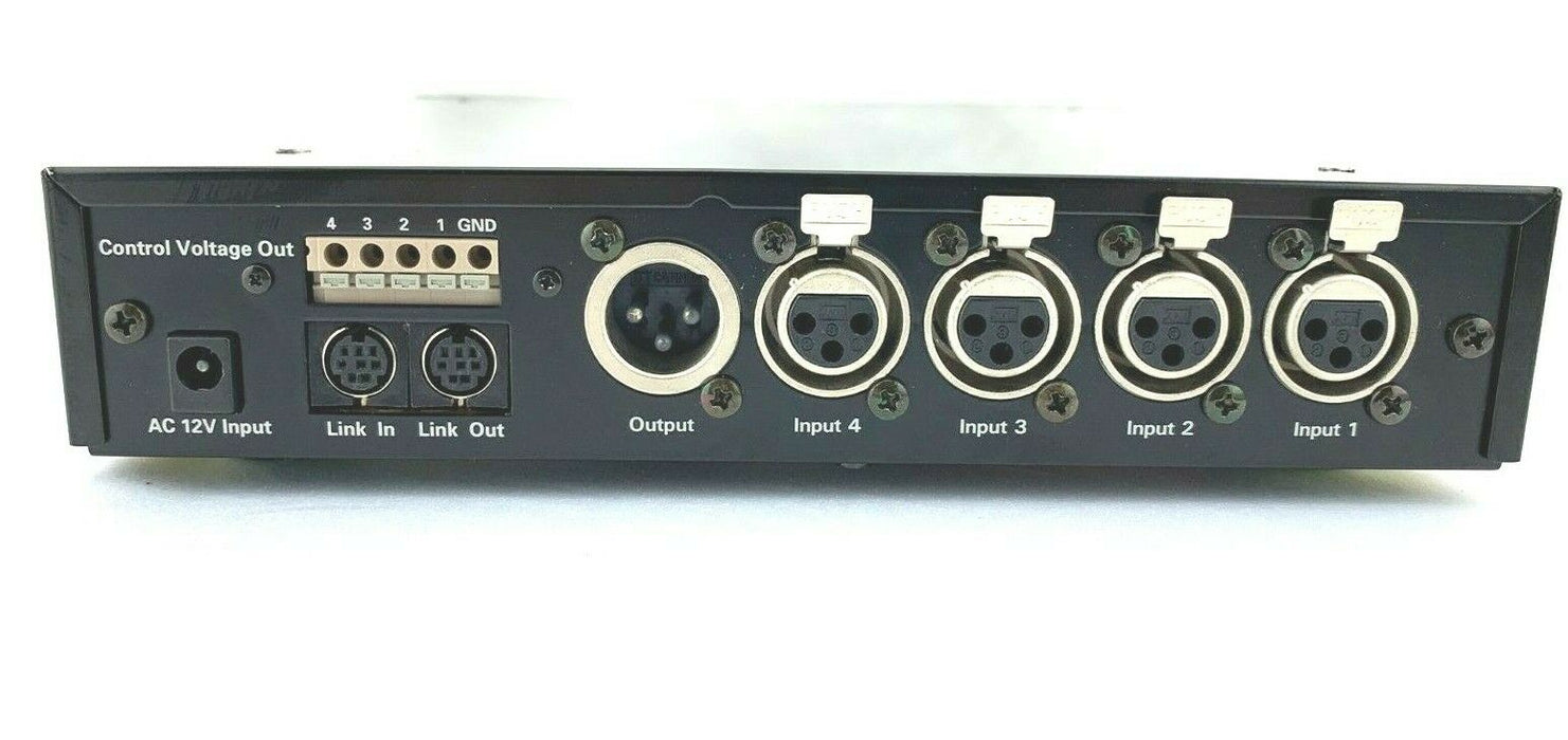 Audio-Technica AT-MX341A Automatic Microphone Mixer 4-Channel 242-4584