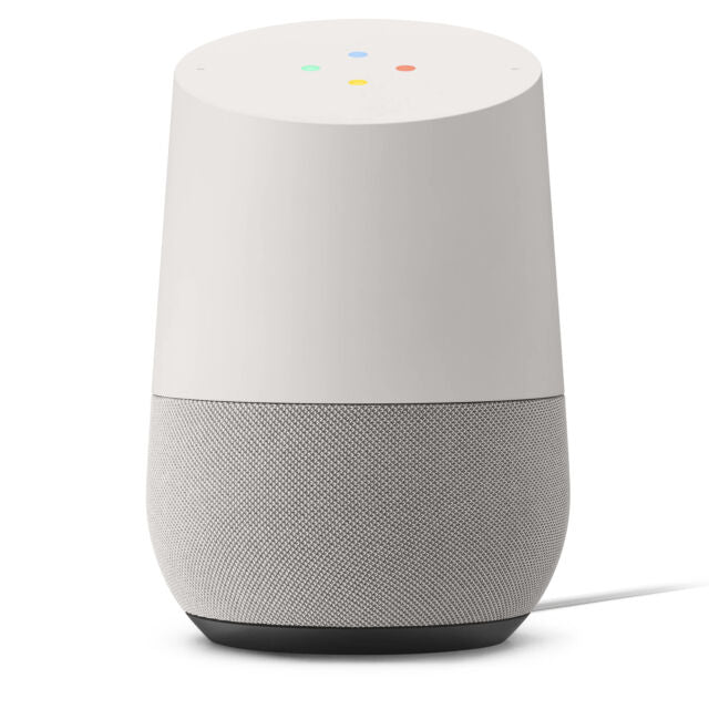 Google Home Voice Activated Smart Speaker Brand New Fast Shipping