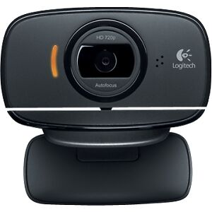 Logitech B525 720p HD Mini Webcam Clip-On, Autofocus, Built-in High Quality Mic