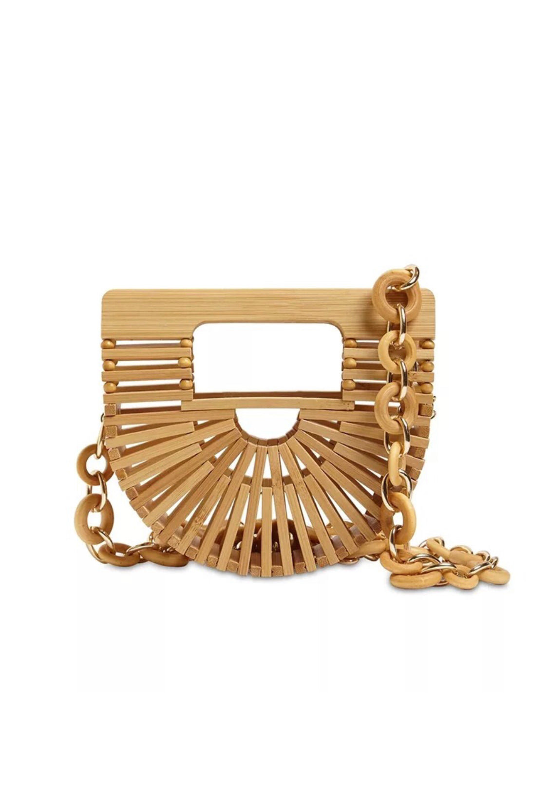 Bamboo Croissant Waist Belt/Shoulder Bag (RESTOCKING SAT., 5/15 @10AM EST)