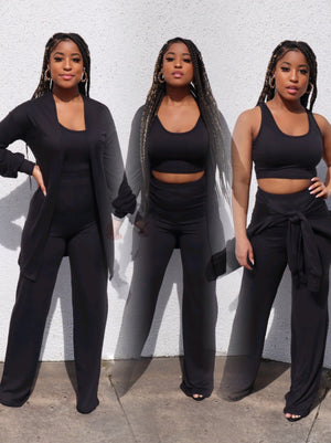 3pc Comfy Set (BLACK)