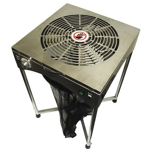 DL Wholesale 18'' TableTop Stand Motor Driven Trimmer - Stainless 777170-Trim Machines-Kind Garden Supply