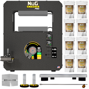 The NugSmasher® PRO Rosin Press Basic Combo Package Deal