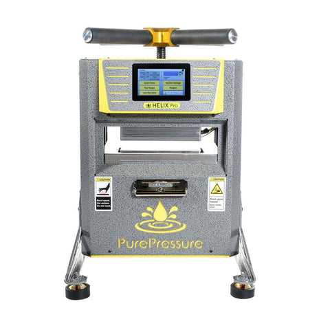 Pure Pressure Helix Pro 5 Ton Manual Rosin Press For Sale Online