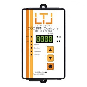 LTL CO2 Digital CO2 PPM Controller, 5m remote sensor probe, 1-outlet