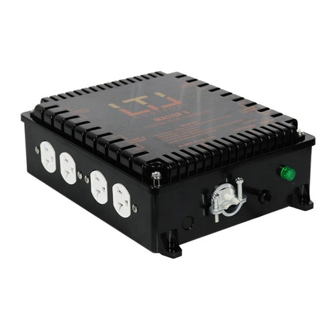 LTL MASTER 8 Eight lighting relay controls, without timer (120v & 240v Universal Plug