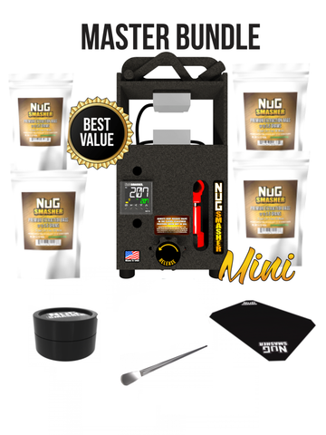 NugSmasher® Mini Rosin Extraction System Master Bundle Package Deal