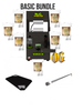 NugSmasher® OG 12 Ton Rosin Press Basic Bundle Package Deal