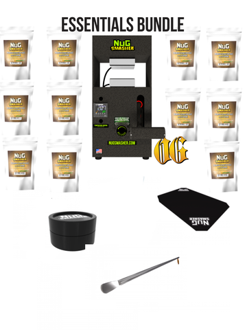 NugSmasher OG Rosin Press Essentials Bundle Package Deal