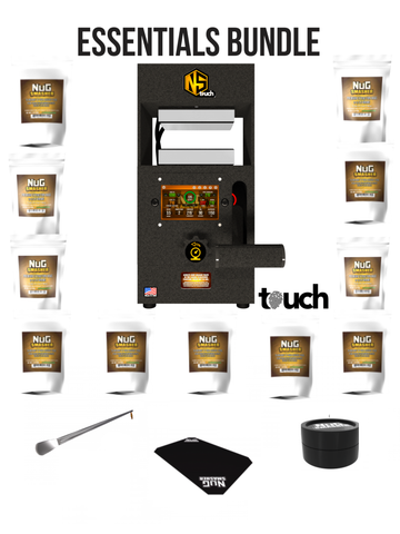 NugSmasher Touch 12 Ton Rosin Press Essentials Bundle Package Deal