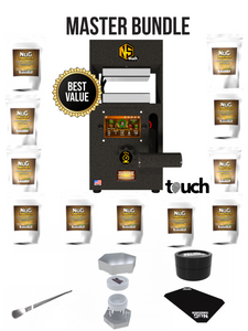 NugSmasher Touch 12 Ton Rosin Press Master Bundle Package Deal