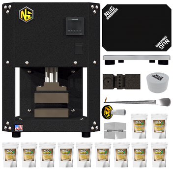 The NugSmasher® X PUSH BUTTON plug n play Rosin  Master Combo Bundle