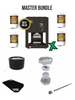 The NugSmasher X 3 Ton  Rosin Press  Master  Bundle Package Deal