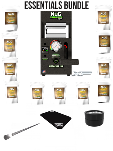 NugSmasher XP 12 Ton Rosin Press Essentials Bundle Package Deal