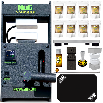 NugSmasher Original 12 Ton Rosin Press Master Bundle