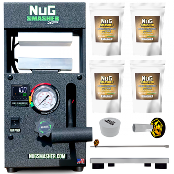 NugSmasher XP 12 Ton Rosin Press Basic Combo Bundle Deal