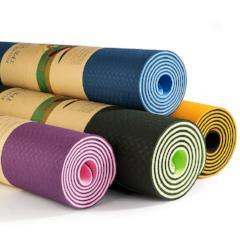 Yoga Mat Double Sided Color