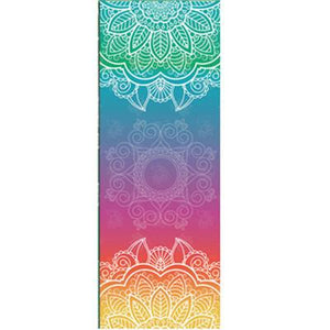Retro Yoga Mat Towel