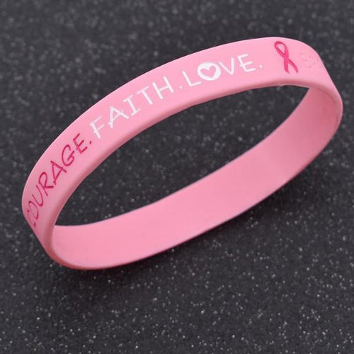 Breast Cancer Awareness Wristband