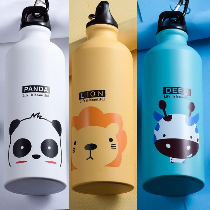 Cartoon Sport Water Bottle