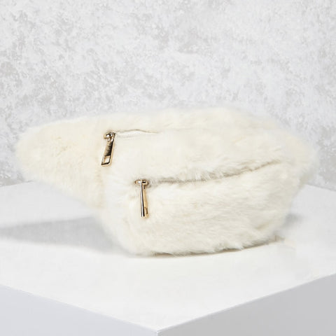 Furry Fanny Pack (various colors available)