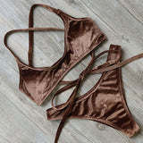 Velvet swimsuit (various colors available)