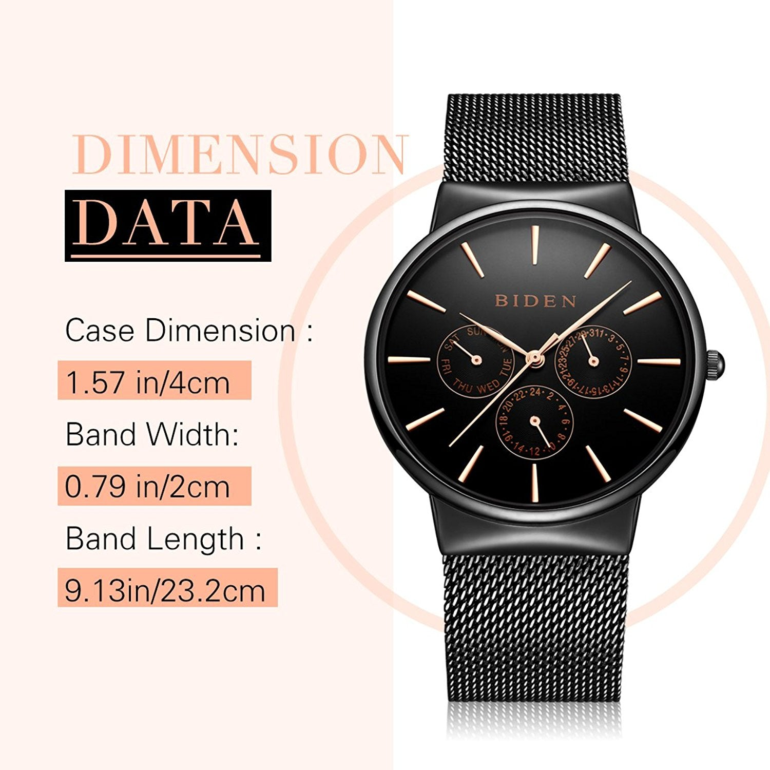 product designer casual wristwatches ps belt pagani watch watches men from sports s calendar fashion business design luminous chronograph