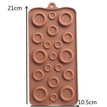 19-hole Buttons Shaped Silicone Mold - About Your Gift