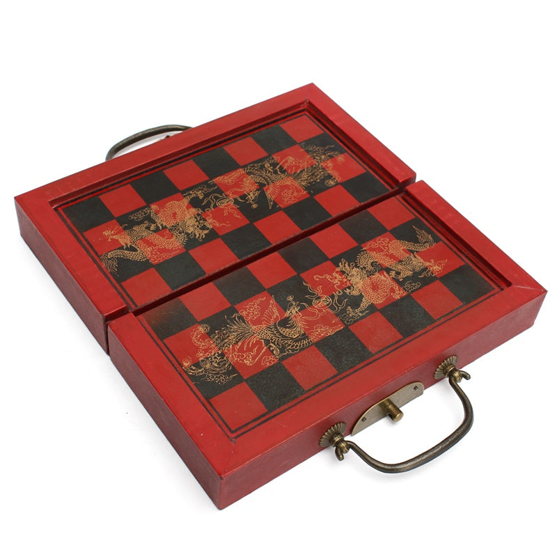 Vintage Miniature Chess Set - About Your Gift