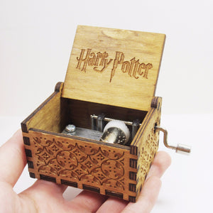 Antique Wooden Carved Harry Potter Musical Box - About Your Gift
