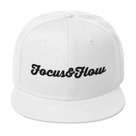 Focus & Flow Signature Black Graphic Snapback Otto Cap