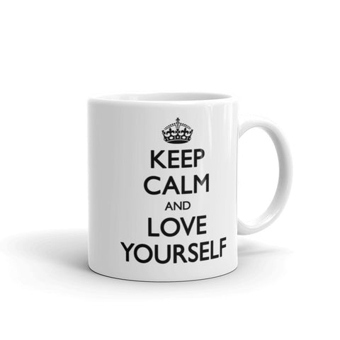 Keep Calm and Love Yourself Mug