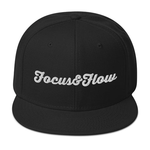 Focus & Flow Signature White Graphic Snapback Otto Cap
