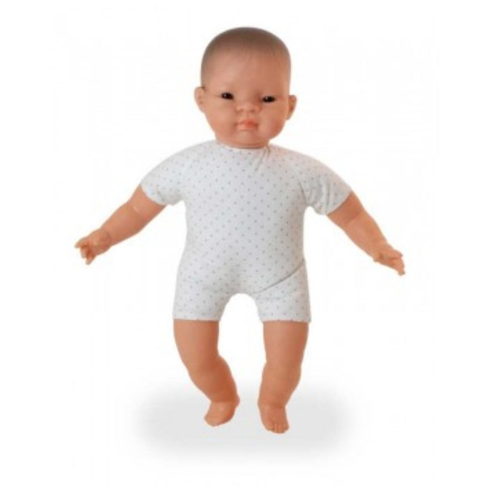 MINILAND Doll - Soft Bodied with articulated head - Asian 40cm