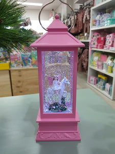 NEW Pink Unicorn & Fairy Lantern