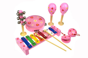 7 Piece Musical Set - Heart