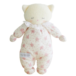 Asleep Awake Kitty - Ivory Pink
