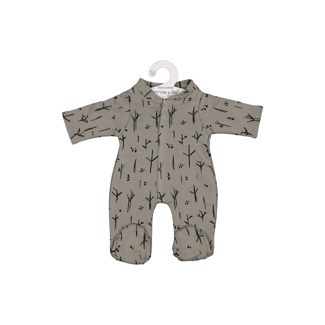 MINILAND Burrow and Be Clothing - Steel Sticks and Stones Romper (For 38cm Doll)