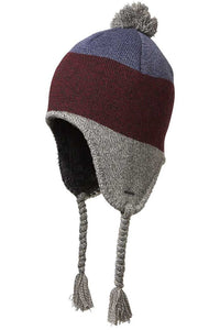 Boys Cole Peru Beanie - Burgundy