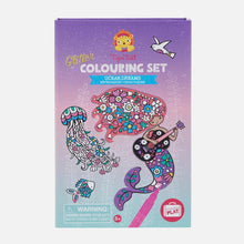Glitter Colouring Set - Ocean Dreams