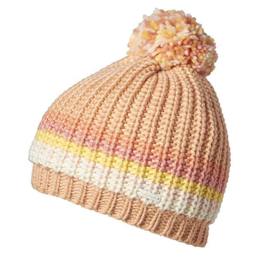 Girls Britney Beanie - Peach