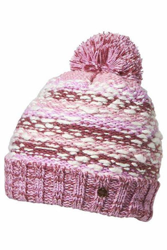 Girls Freya Beanie - Purple