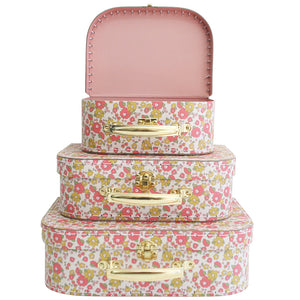 Carry Case Set Of 3 - Chloe Print