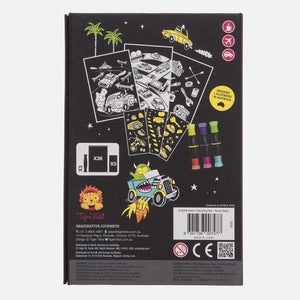 Neon Colouring Set - Road Stars