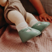 Dinkum Doll Shoes - Basil Green