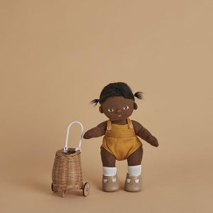 Mini Toy Doll Luggy - Natural