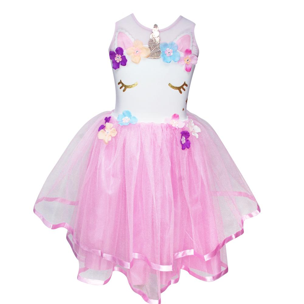Unicorn Dress (Light Pink)