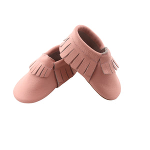 Wild Chase Frilled Moccasins - Pink