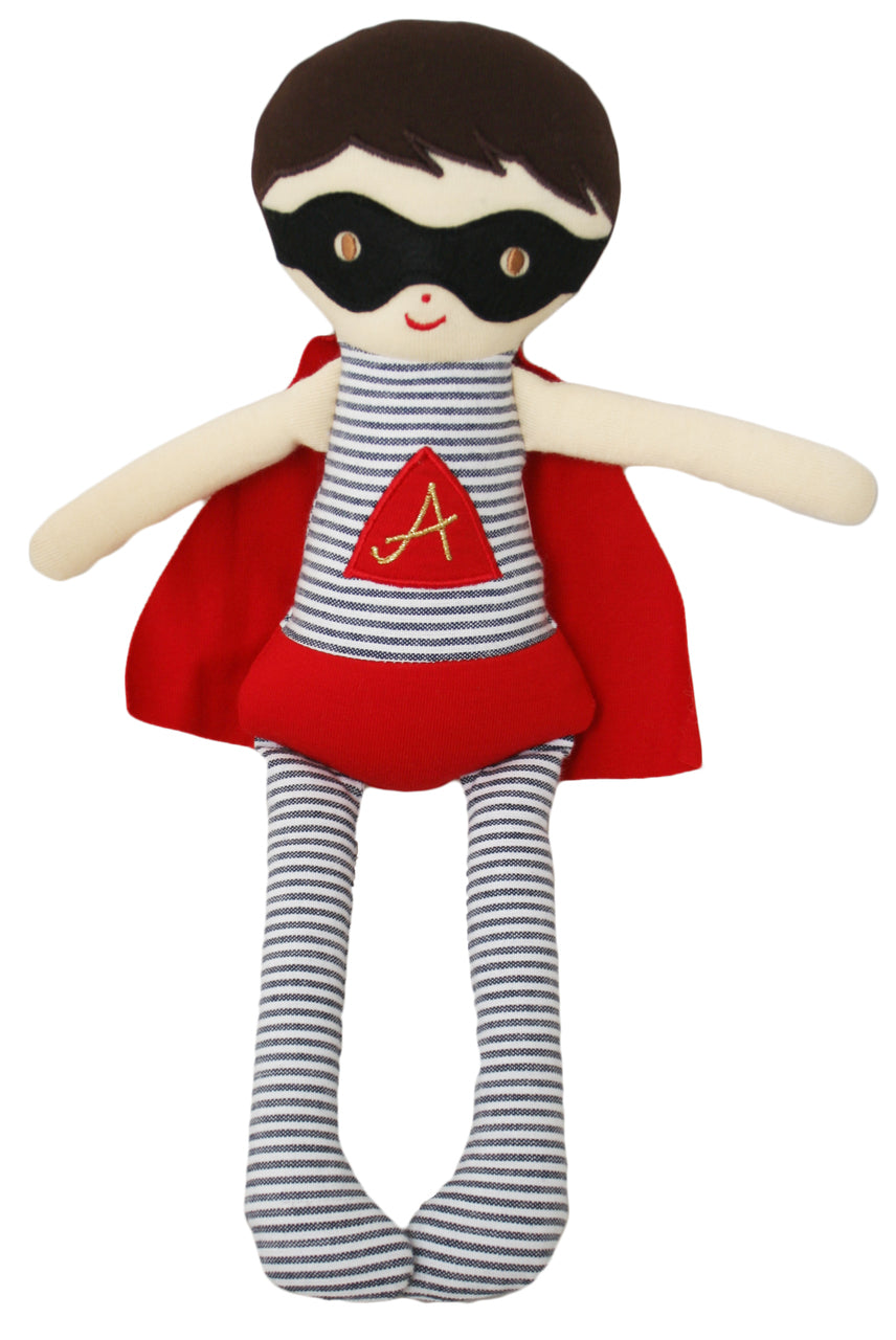 Super Hero Doll Rattle - 28cm